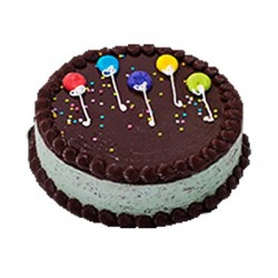 Balloon Chocolate Cake