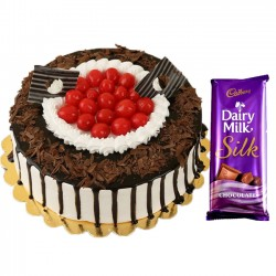 Exotic Black Forest Cake...