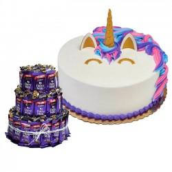 Unicorn Designer Cake With...