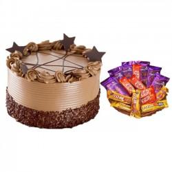 Coffee Chocochip Cake With...